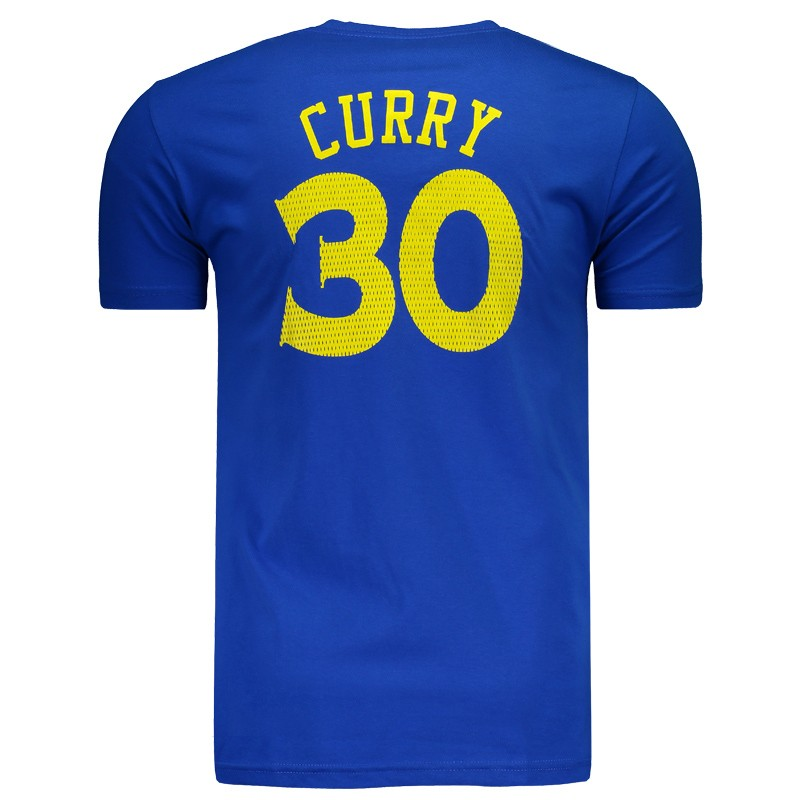 18a1a69eee Camiseta NBA Golden State Warriors 30 Curry Azul - FutFanatics