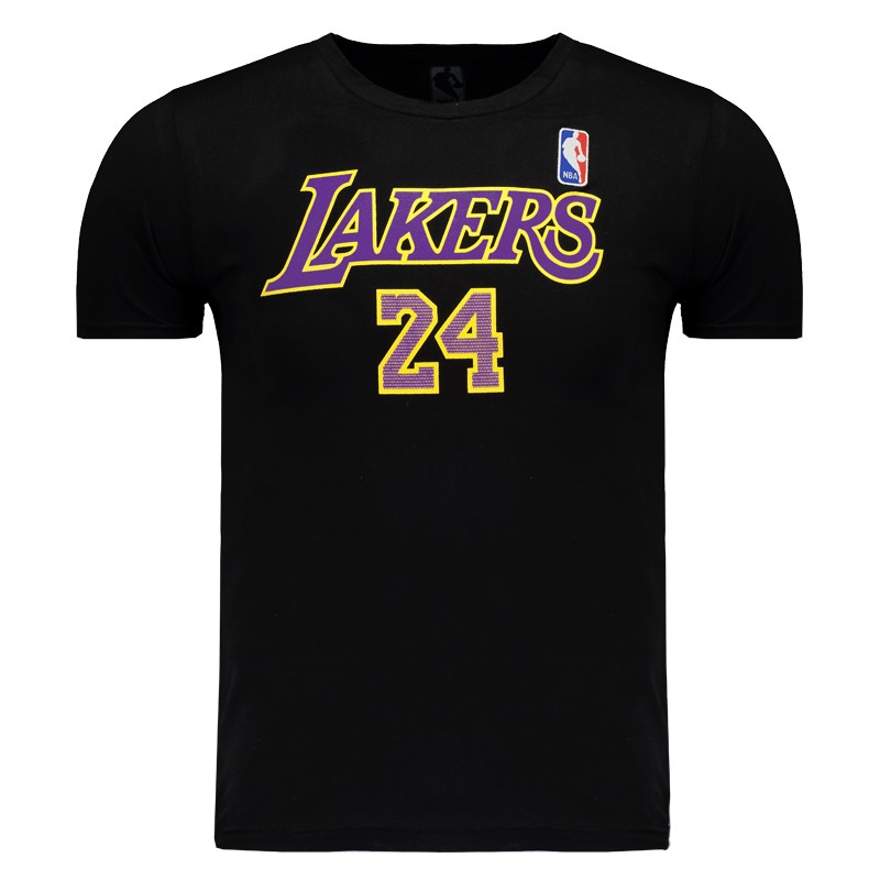 Camiseta NBA Los Angeles Lakers 24 Bryant Juvenil - FutFanatics 9d7b5ab1da1