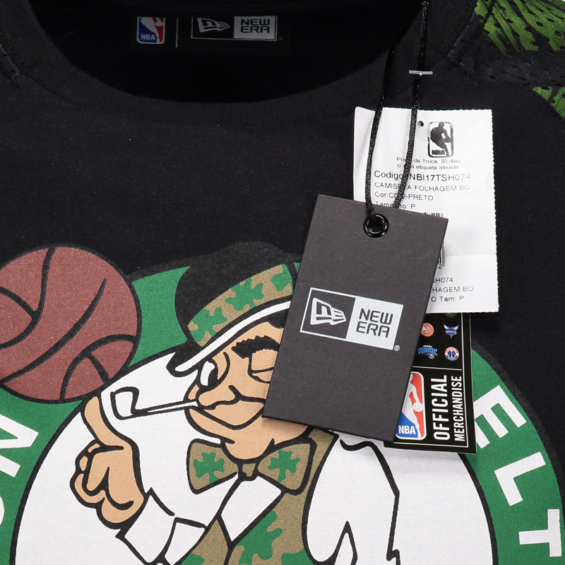 d4133d200 Camiseta New Era NBA Boston Celtics Manga Longa - FutFanatics
