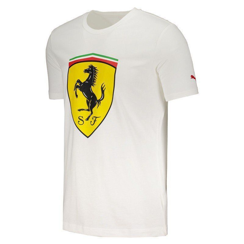 e7d9969c8 Camiseta Puma Scuderia Ferrari Big Shield - FutFanatics