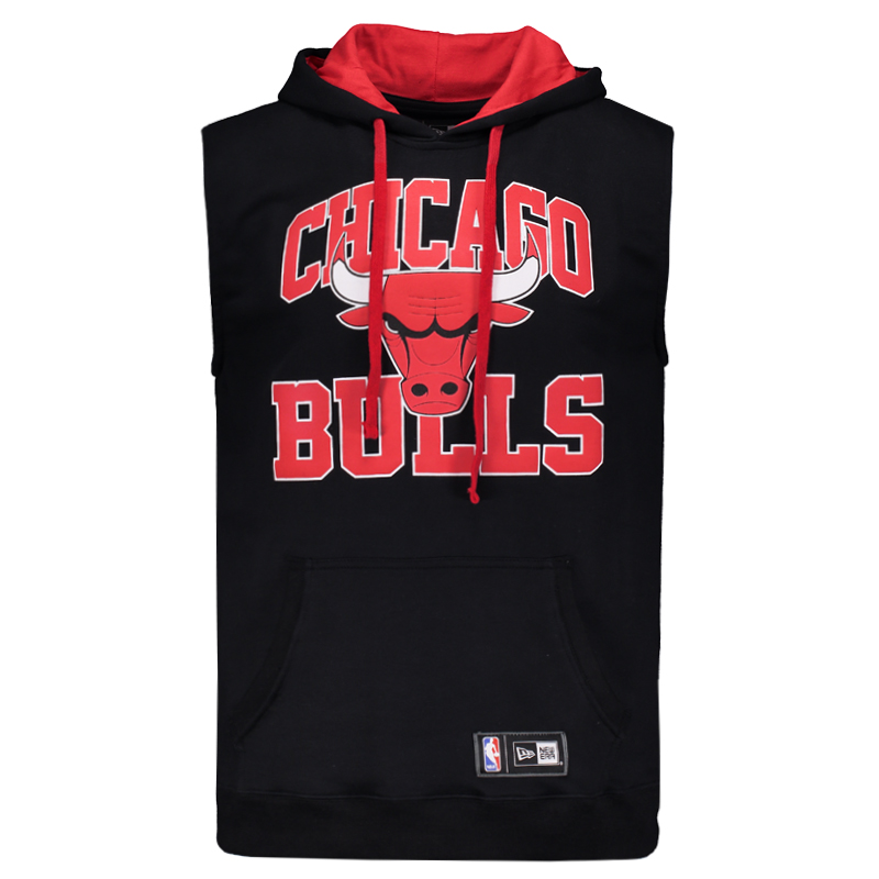 Colete New Era NBA Chicago Bulls College - FutFanatics cecf292017e