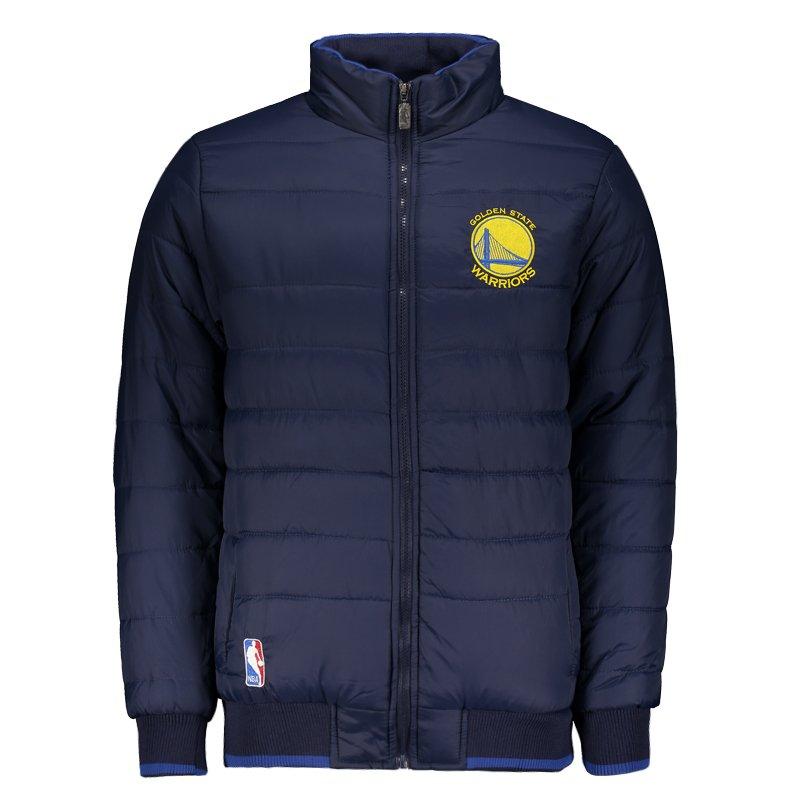 59b3430c8 Jaqueta NBA Golden State Warriors Stuff Marinho - FutFanatics