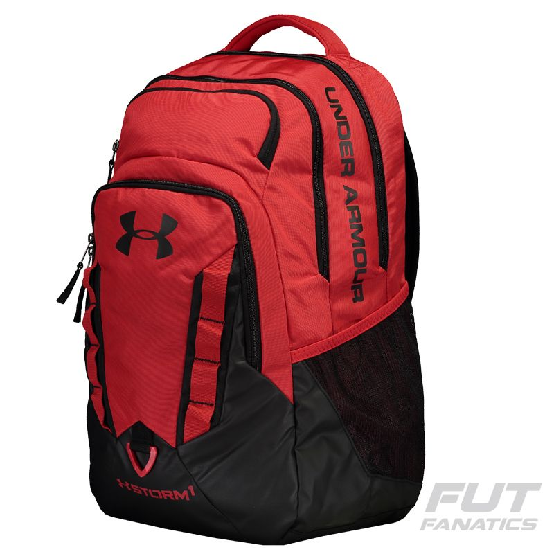 a993de0c55b Mochila Under Armour Recruit Vermelha - FutFanatics