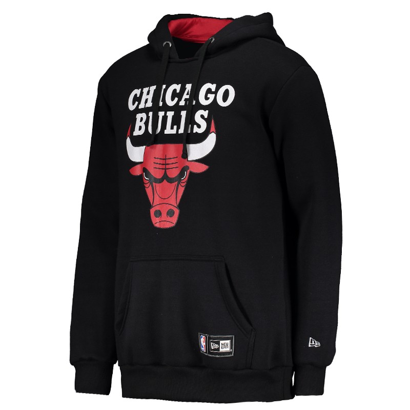 Moletom New Era NBA Chicago Bulls Preto - FutFanatics f340d0db5a7