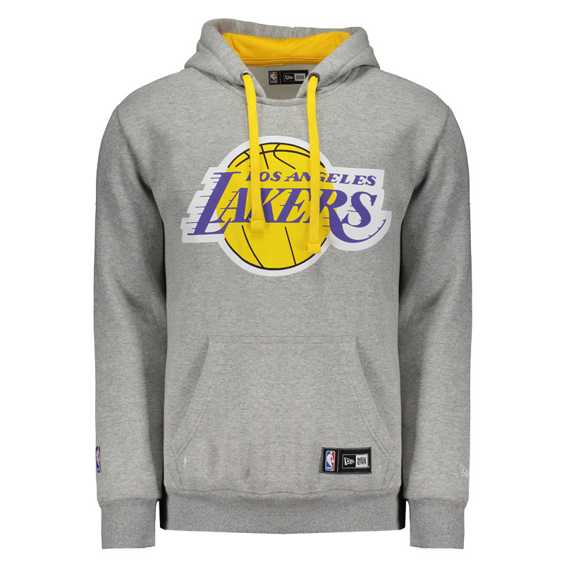 Moletom New Era NBA Los Angeles Lakers - FutFanatics e56f9452481