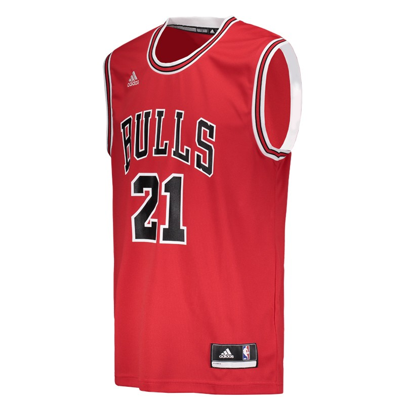 6c8cab0ab Regata Adidas NBA Chicago Bulls - FutFanatics