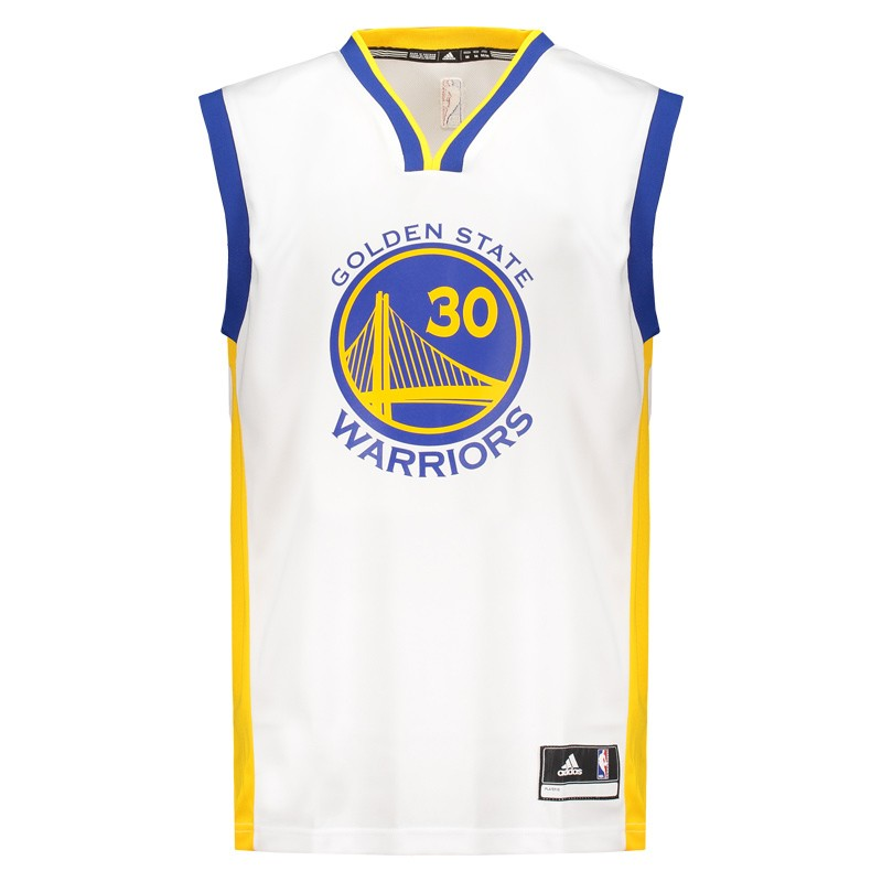 44bc8e467 Regata Adidas NBA Golden State Warriors 30 Curry - FutFanatics