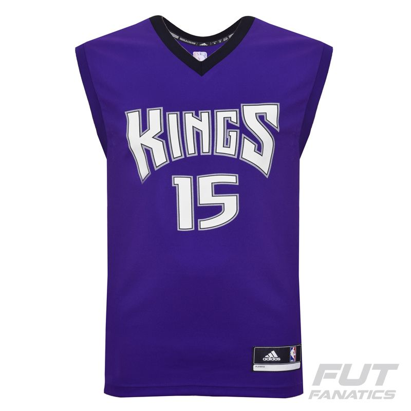 Regata Adidas NBA Sacramento Kings Road 2016 15 Cousins - FutFanatics 1e8bc9199faf9