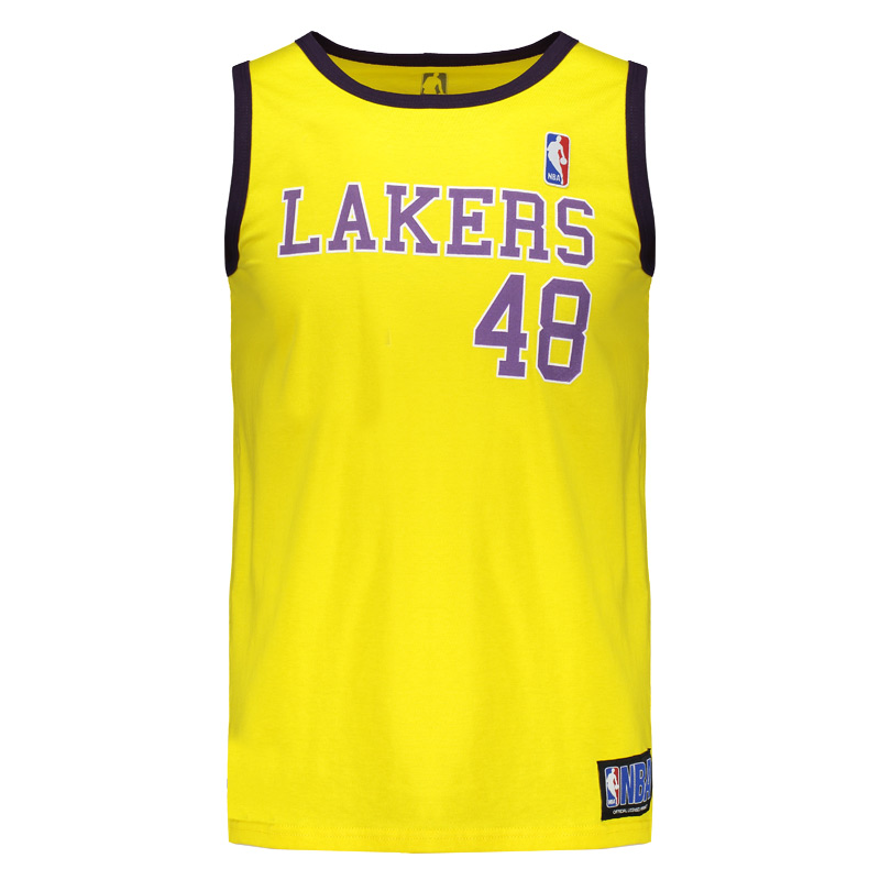 Regata NBA La Lakers Retrô - FutFanatics a21a1f60f35