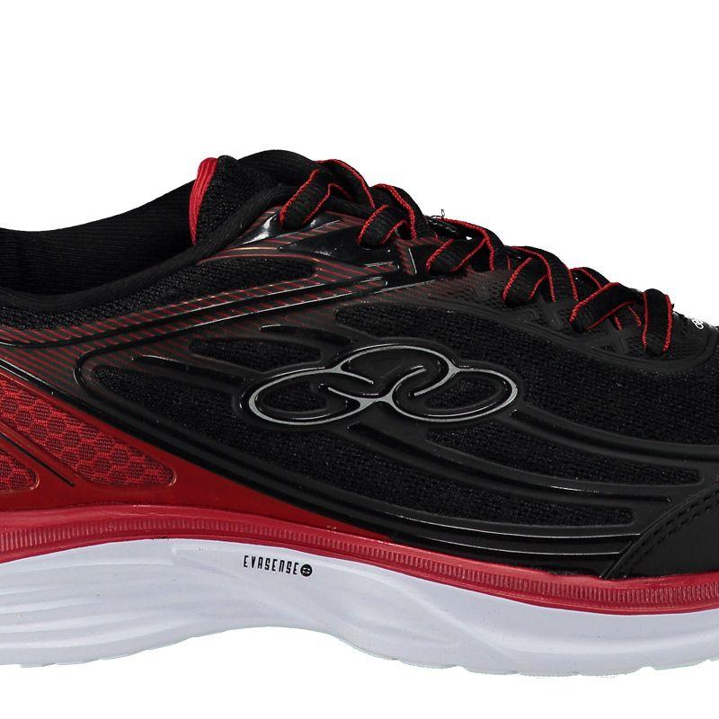 8d6e0e11667 Tênis Olympikus Starter Preto e Vermelho - FutFanatics
