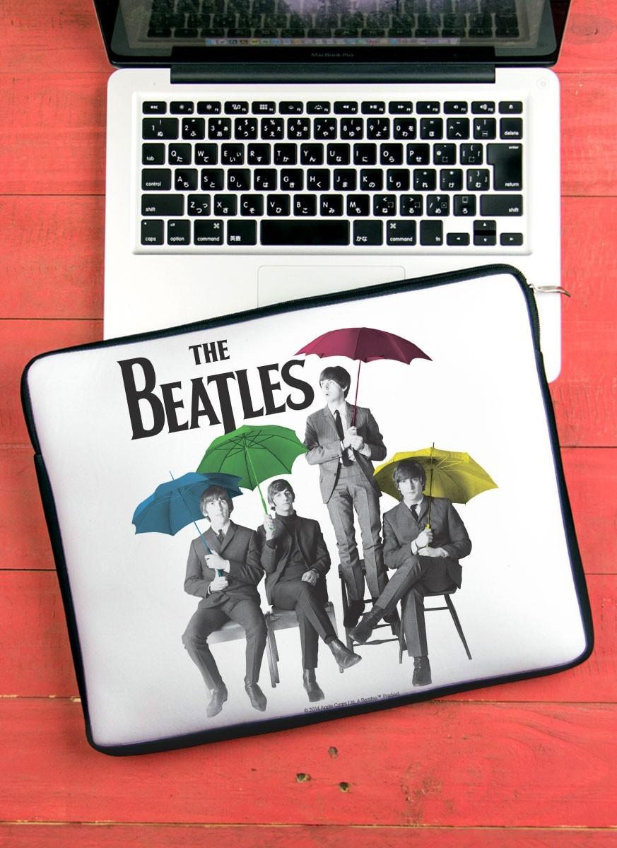 Capa Para Notebook The Beatles Umbrella Colors