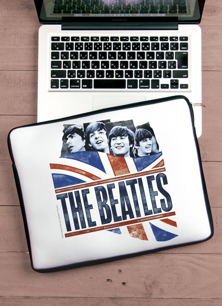 Capa Para Notebook The Beatles - England Flag