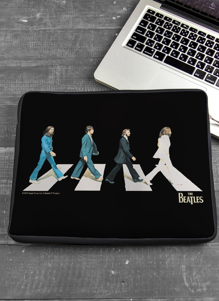 Capa Para Notebook The Beatles Abbey Road Black