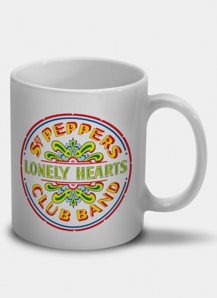 Caneca The Beatles - Sgt. Peppers Club Band And The Lonely Hearts
