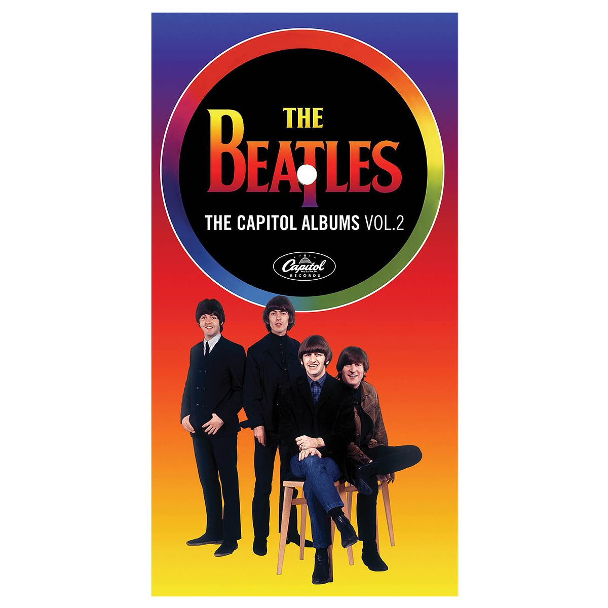 CD Box The Beatles - The Capitol Albums Volume 2