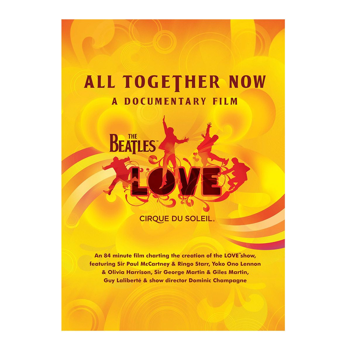 DVD The Beatles  Cirque Du Soleil - All Together Now