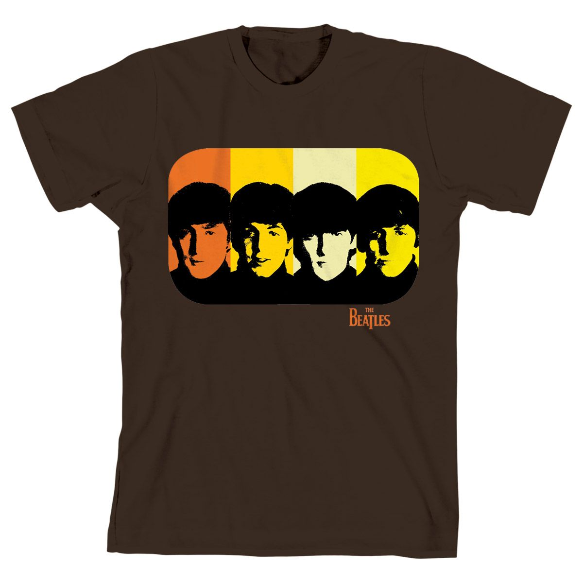 Camiseta Unissex The Beatles - Retro Design Basic