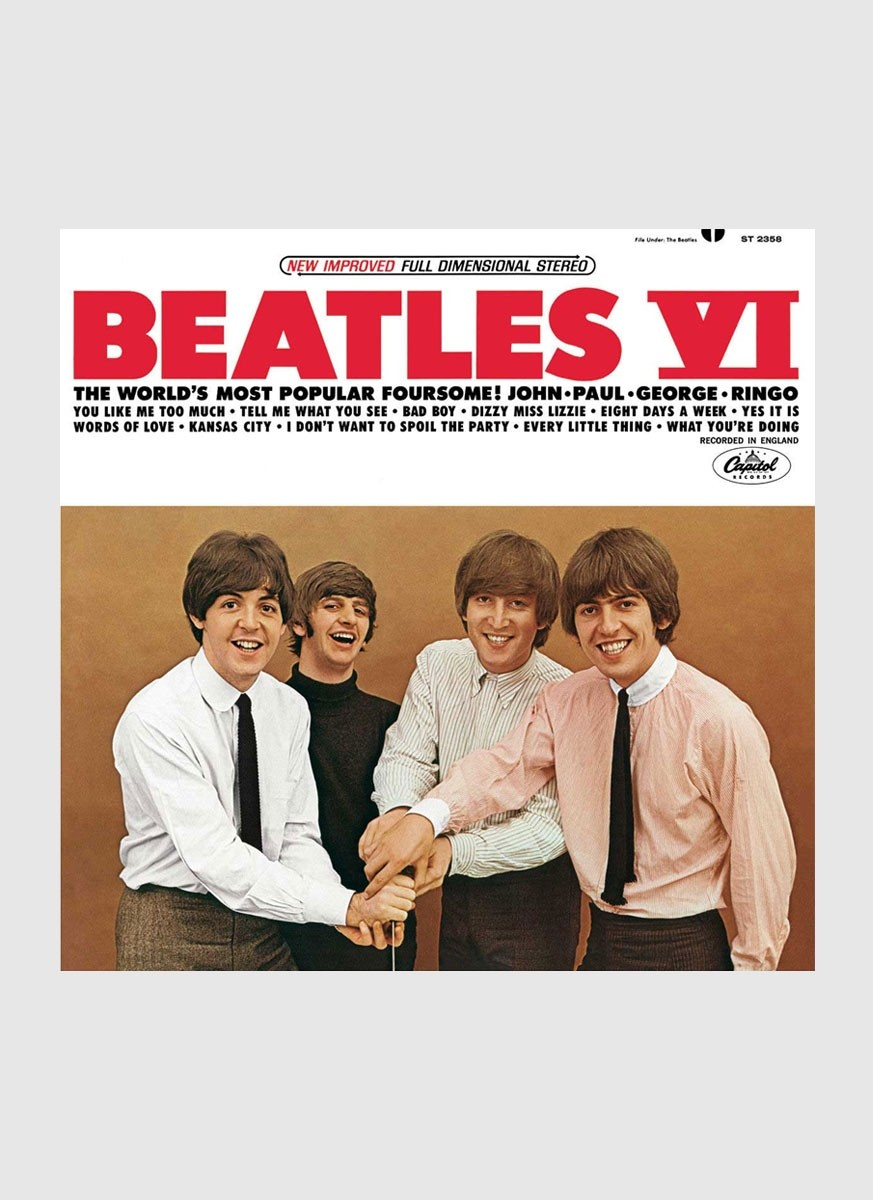 CD The Beatles  VI