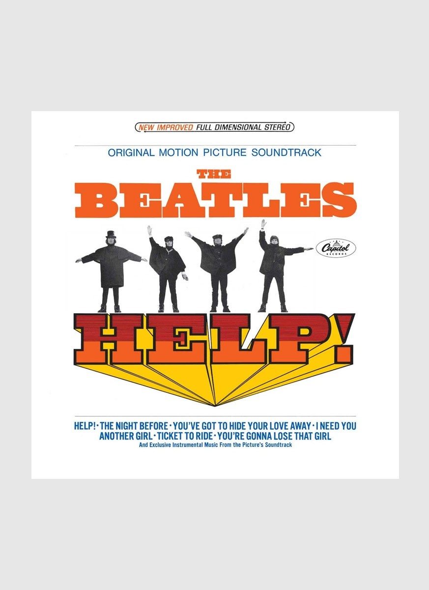 CD The Beatles - Help USA Version