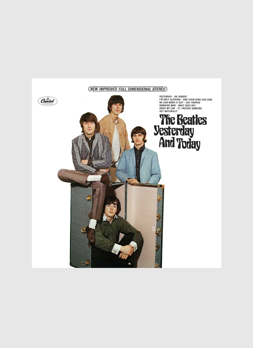 CD The Beatles - Yesterday And Today USA Version
