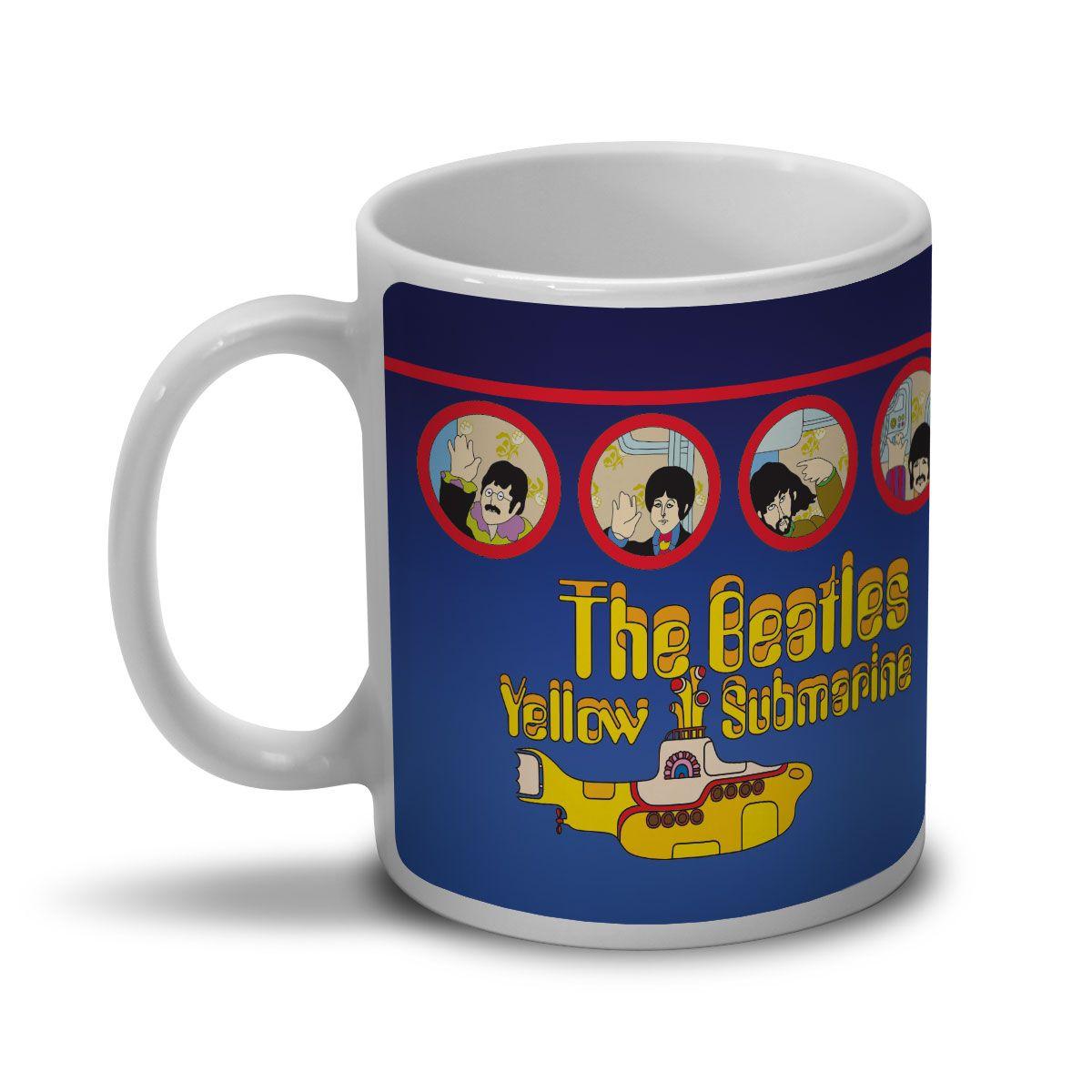 Caneca The Beatles Yellow Submarine Songtrack