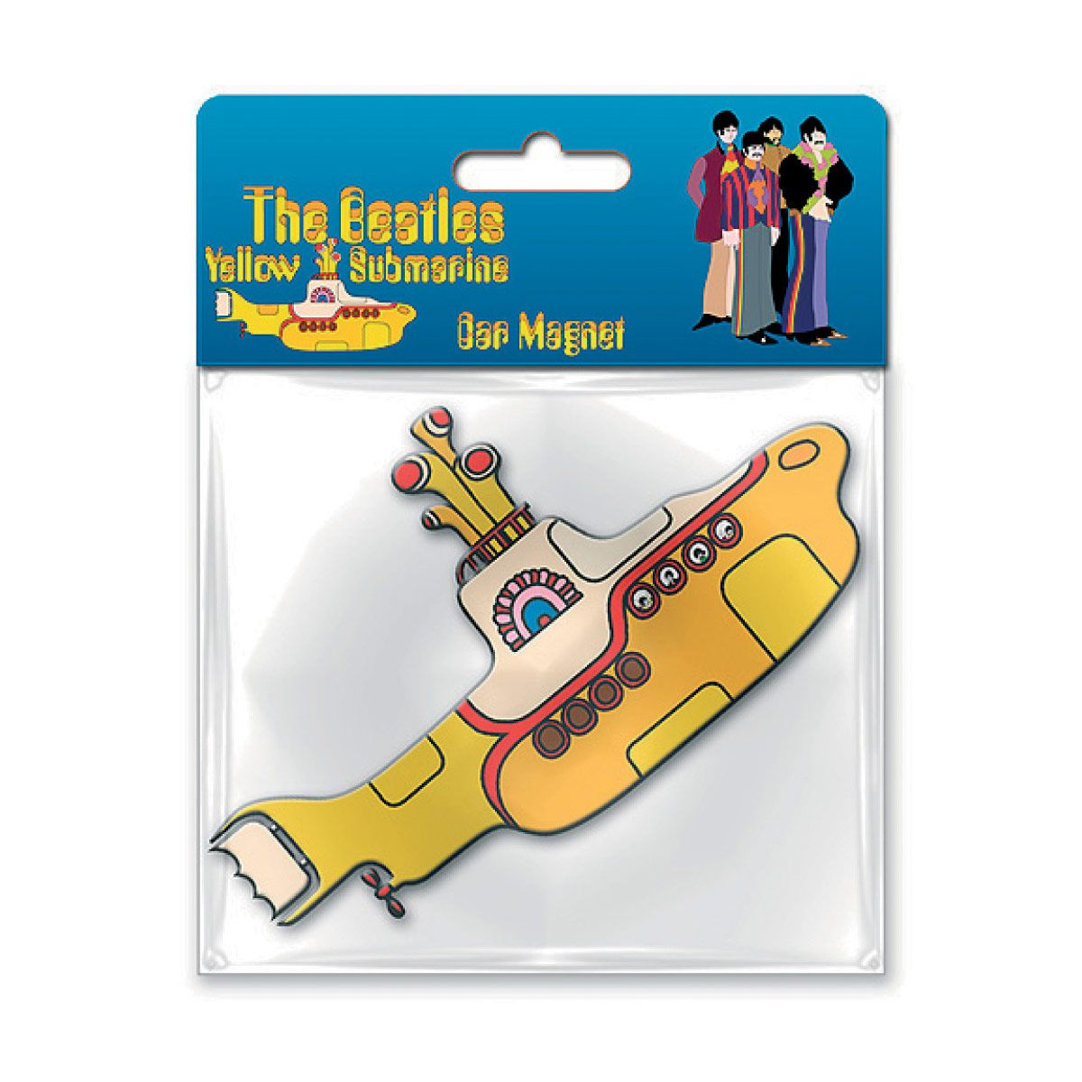 Imã Emborrachado The Beatles Yellow Submarine