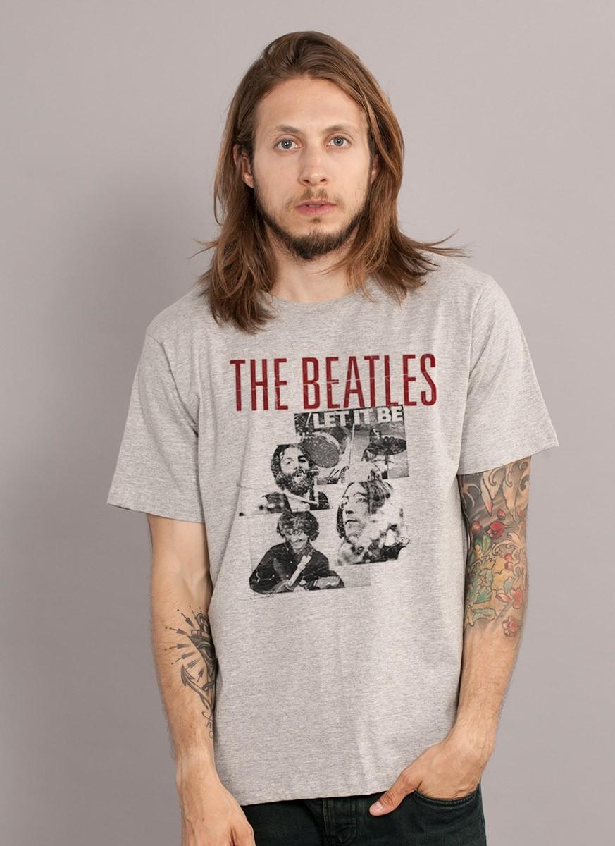 Camiseta Masculina The Beatles A Hard Day's Night