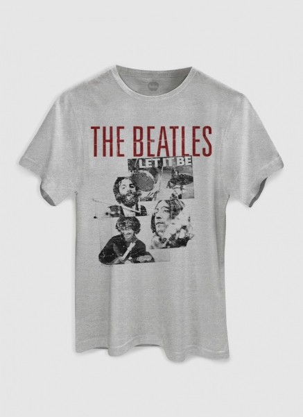 Camiseta Masculina The Beatles Let it Be