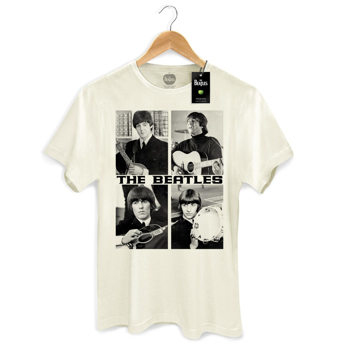 Camiseta Masculina The Beatles Pictures
