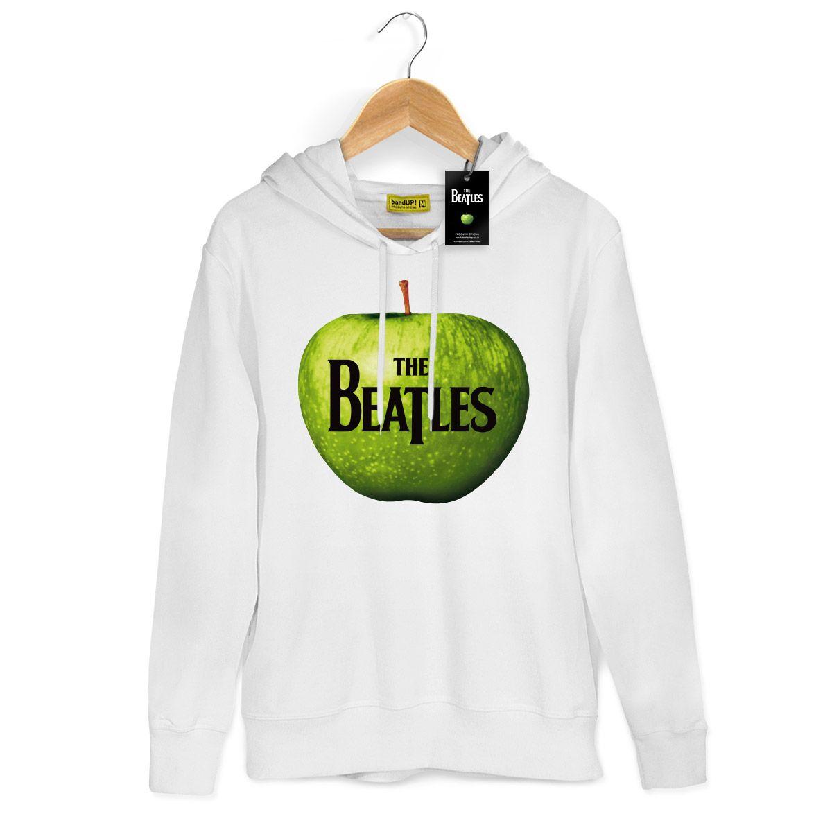 Moletom Branco The Beatles Apple 2
