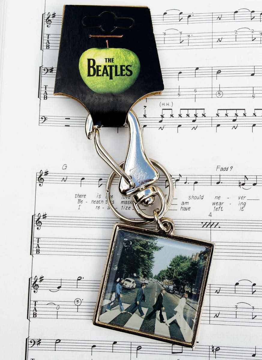 Chaveiro de Metal The Beatles Abbrey Road