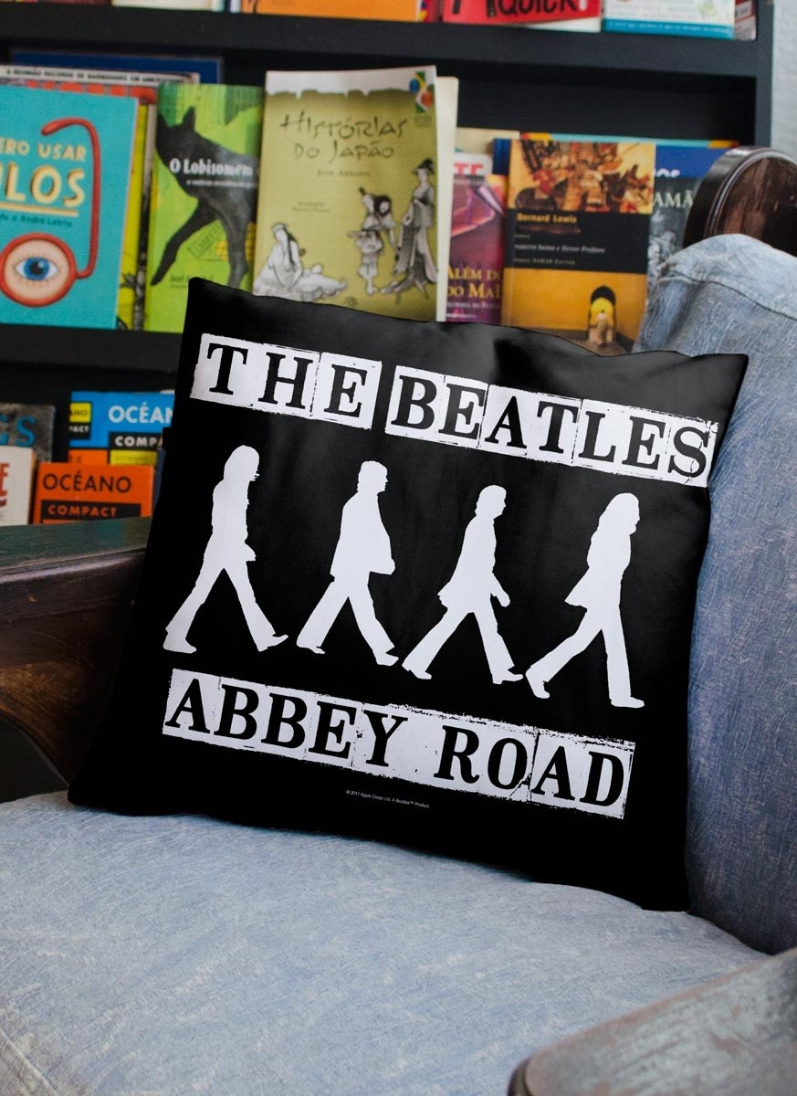 Almofada The Beatles Abbey Road P&B