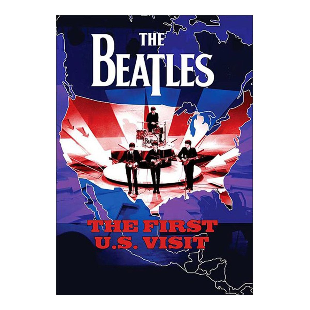 DVD The Beatles - The First Us Visit