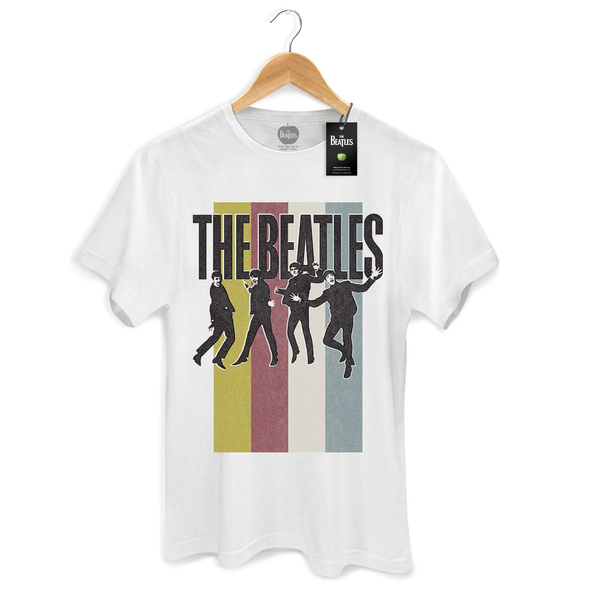 Camiseta Masculina The Beatles Jump