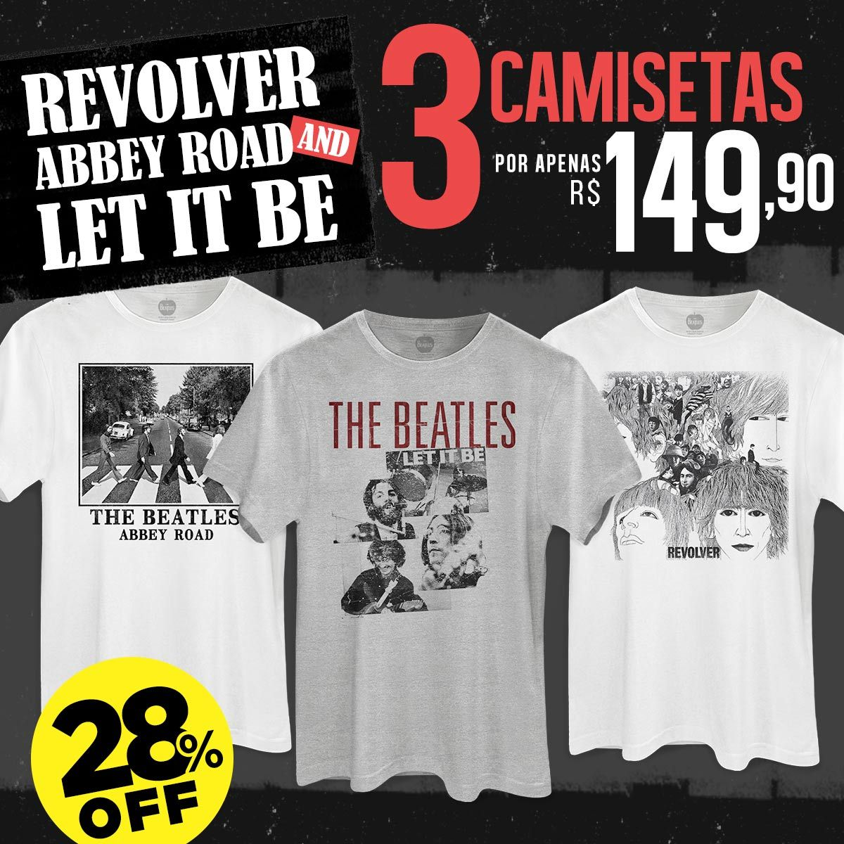 Combo Revolver, Abbey Road and Let it Be!