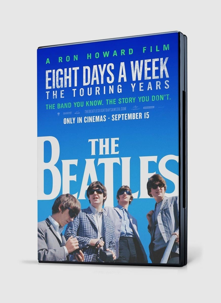DVD Nacional The Beatles Eight Days a Week The Tour