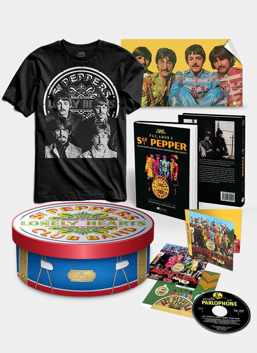 Pré-venda Gift Box The Beatles Sgt Peppers 50 Anos - Edição Deluxe
