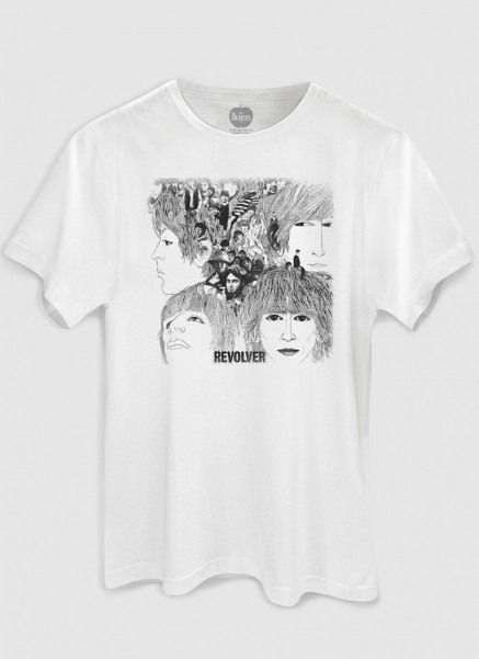 T-Shirt Feminina The Beatles Revolver
