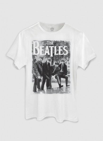 T-Shirt Feminina The Beatles Hey What´s That