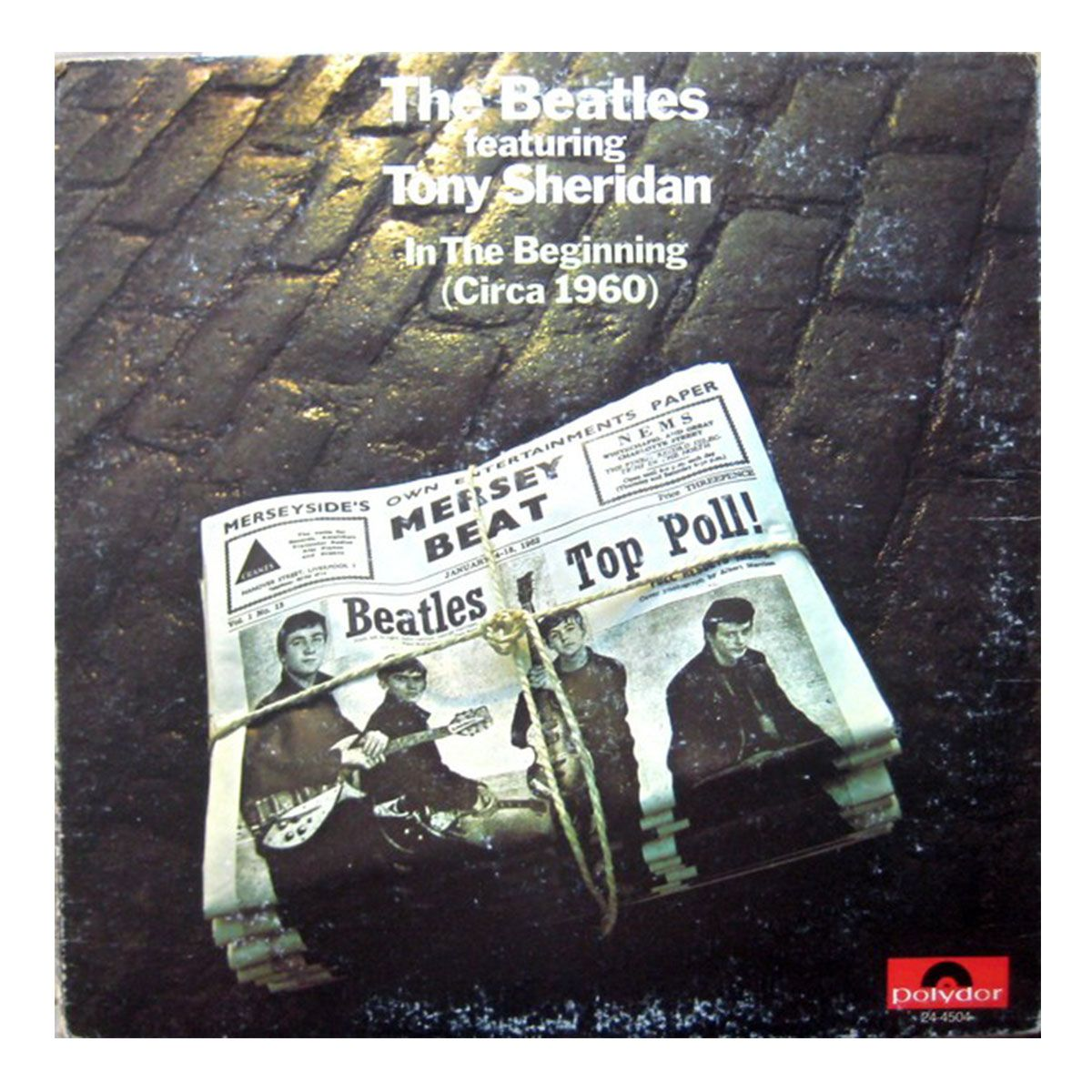LP The Beatles With Tony Sheridan - In The Beginning