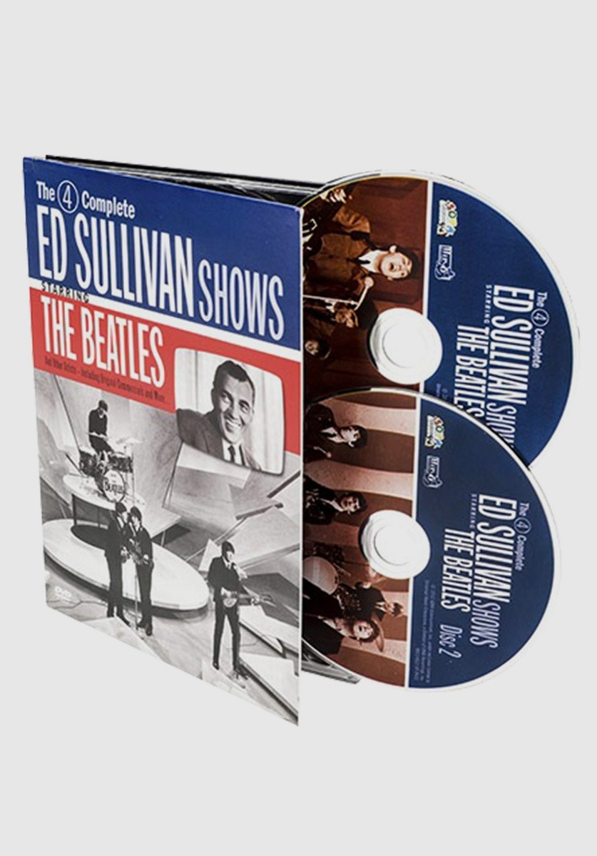 DVD Duplo The Beatles - Complete Ed Sullivan Shows Starring The Beatles