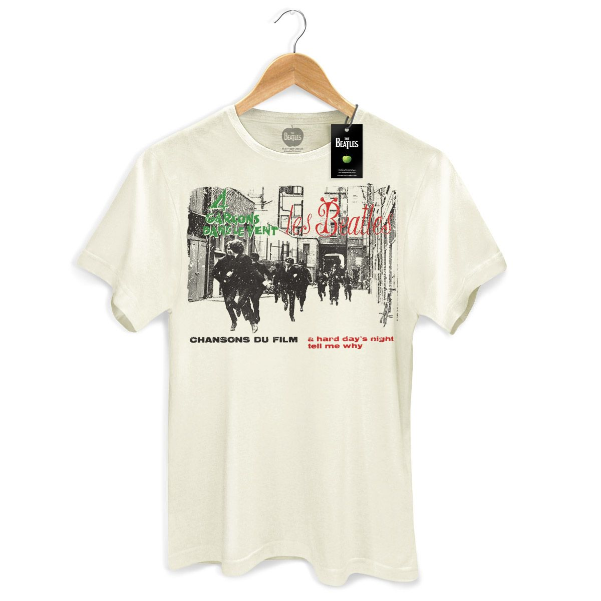 Camiseta Unissex The Beatles - 4 Garçons Dans Le Vent