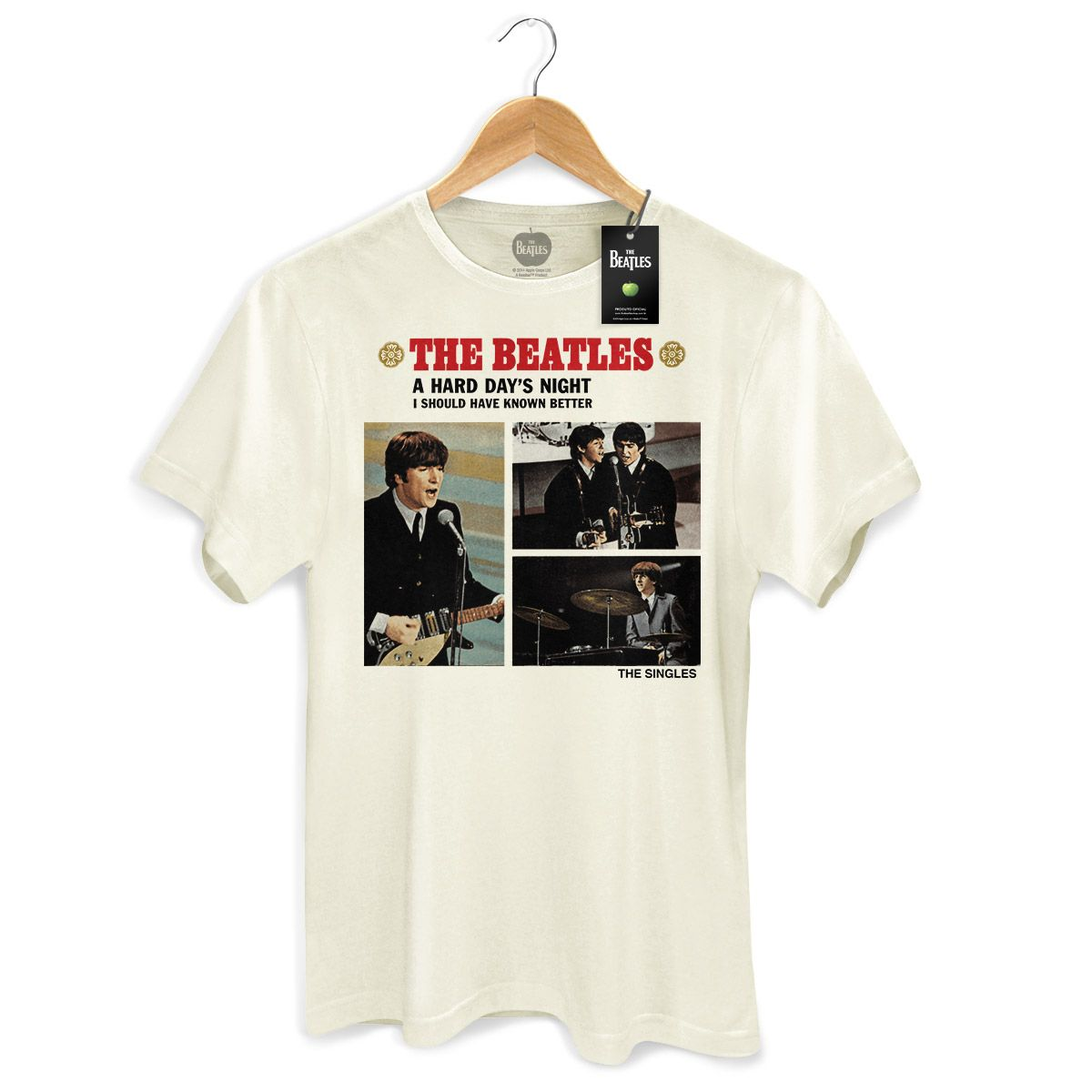 Camiseta Unissex The Beatles Abbey Road Black