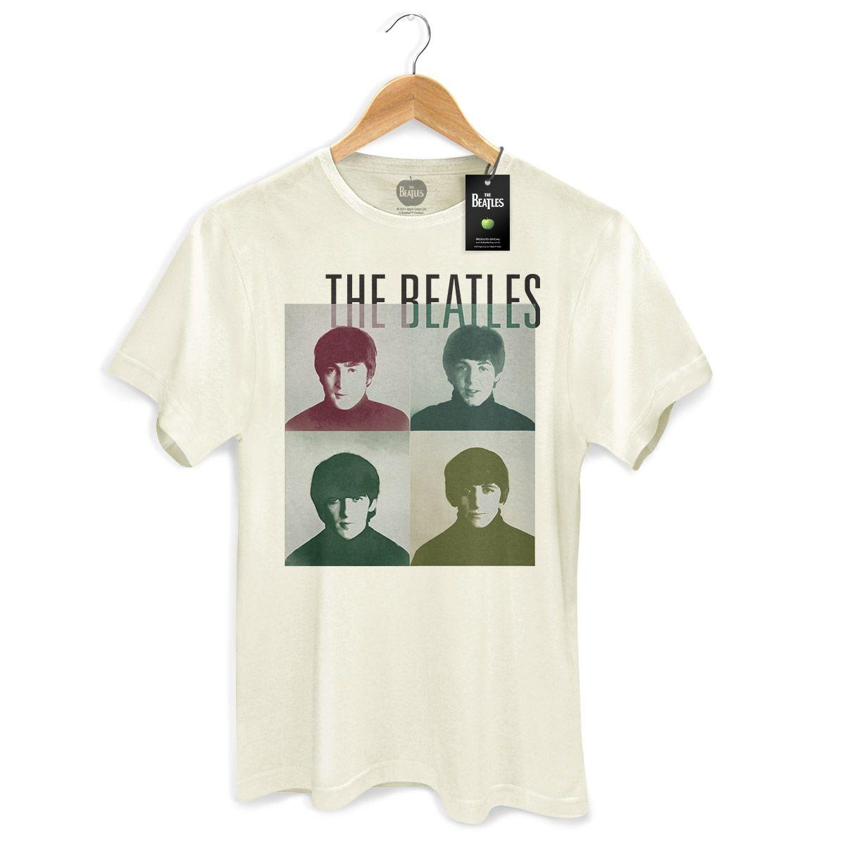 Camiseta Unissex The Beatles Four Square