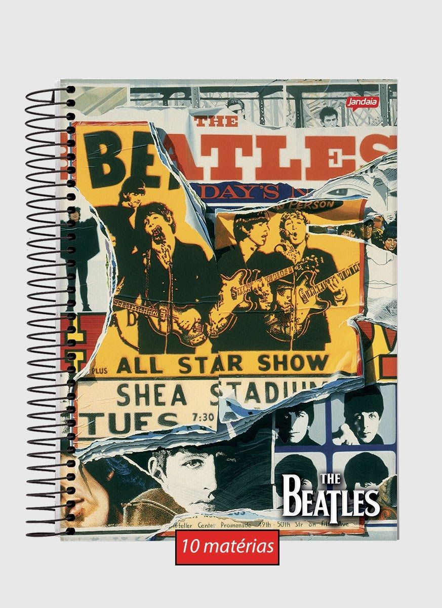 Caderno 10 Matérias The Beatles All Star Show
