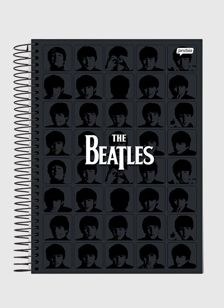 Caderno 1 Matéria The Beatles Black