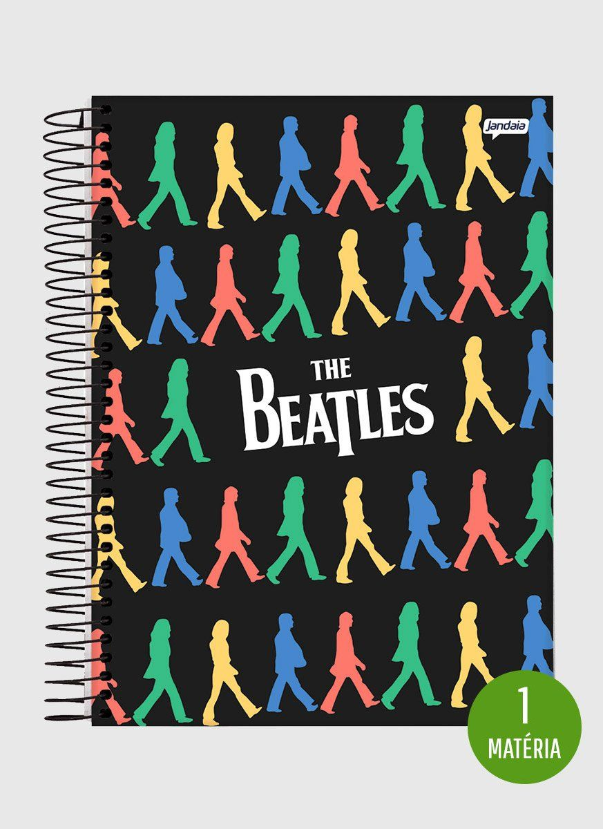 Caderno The Beatles Colors 1 Matéria
