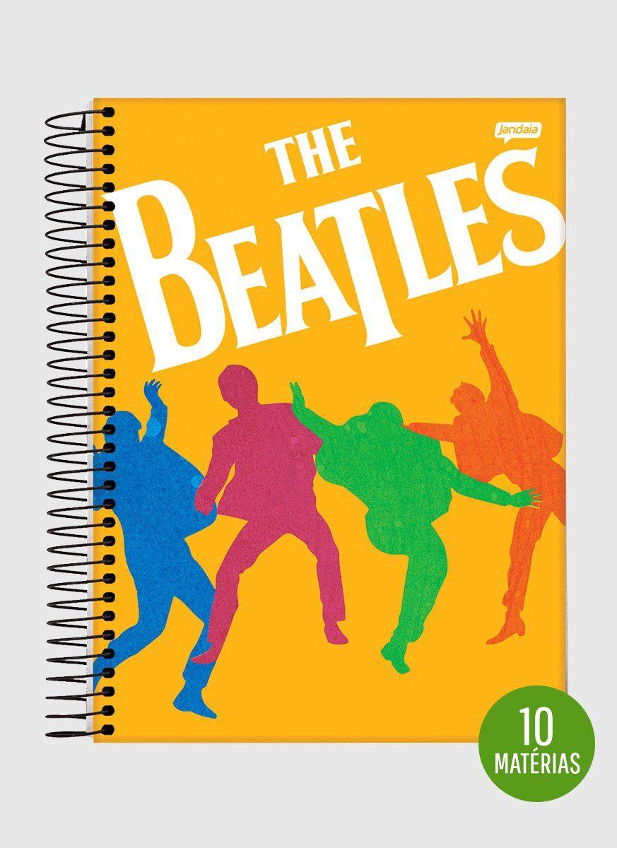Caderno The Beatles Dancing 10 Matérias