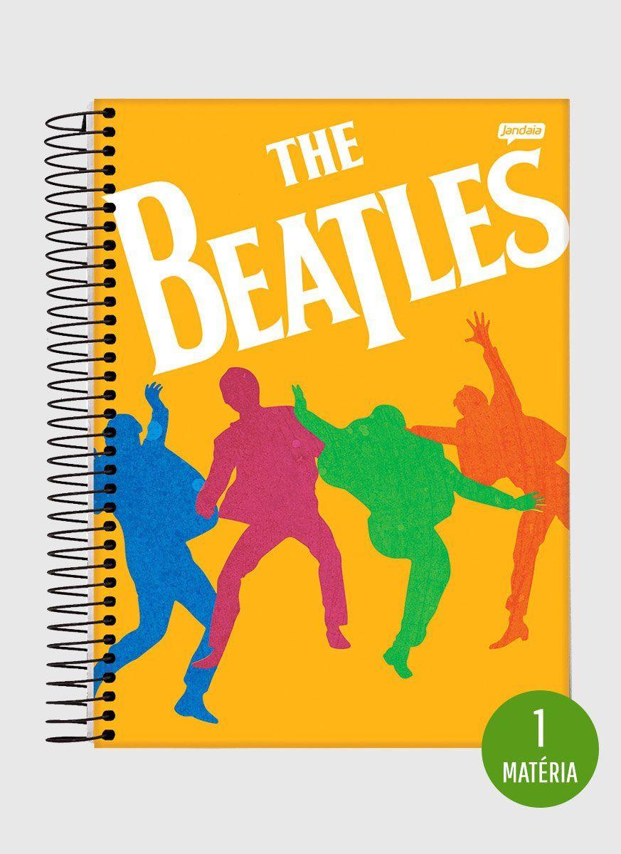 Caderno The Beatles Dancing 1 Matéria