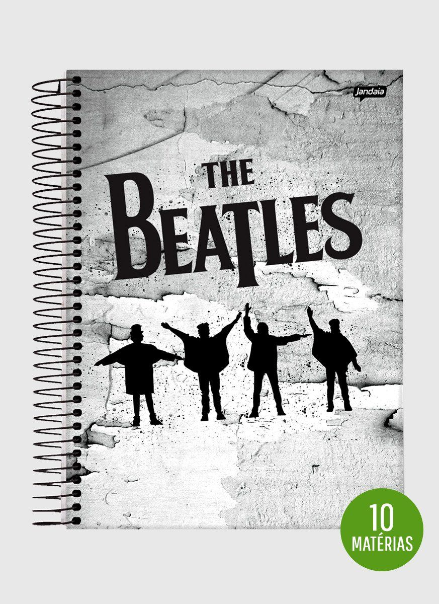 Caderno The Beatles Help! 10 Matérias